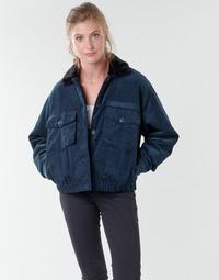Textil Mulher Jaquetas Volcom ARMY CORD JACKET Azul