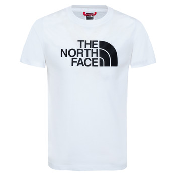 Textil Rapaz T-Shirt mangas curtas The North Face EASY TEE Branco