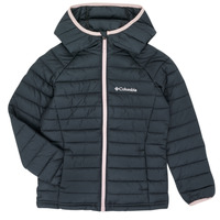 Textil Rapariga Quispos Columbia POWDER LITE HOODED JACKET Preto