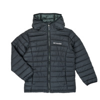 Textil Rapaz Quispos Columbia POWDER LITE HOODED JACKET Preto