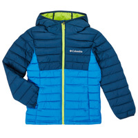 Textil Rapaz Quispos Columbia POWDER LITE HOODED JACKET Azul