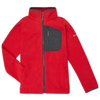 Textil Rapaz Casaco polar Columbia FAST TREK Vermelho