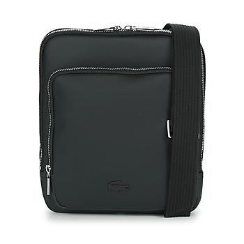 Malas Homem Pouch / Clutch Lacoste MEN'S CLASSIC CROSSOVER BAG Preto
