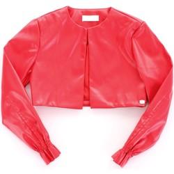Textil Rapariga Casacos de couro/imitação couro Byblos Blu BJ14994 Vermelho