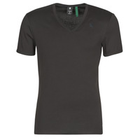 Textil Homem T-Shirt mangas curtas G-Star Raw PREMIUM 1 BY 1 O Preto