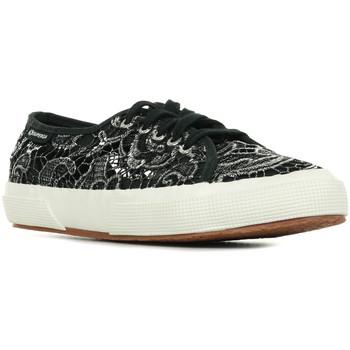 Sapatos Mulher Sapatilhas Superga 2750 Macramemetw Preto