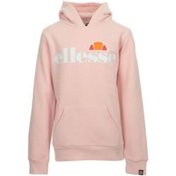 Textil Rapariga Sweats Ellesse Isobel Hoody Kids Rosa