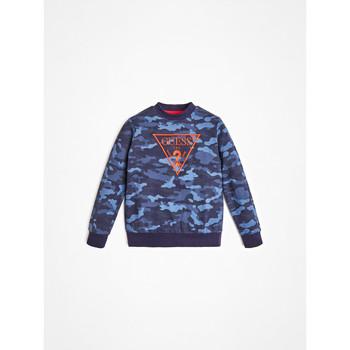Textil Rapaz Sweats Guess L0YQ01-K82T0-PC74 Azul