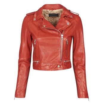 Textil Mulher Casacos de couro/imitação couro Oakwood KYOTO Vermelho