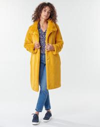 Textil Mulher Casacos S.Oliver 05-009-52 Amarelo