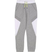 Textil Rapaz Calças de treino BOSS J24664 Cinza