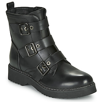Sapatos Mulher Botas baixas Spot on F51069 Preto