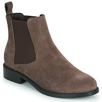 Sapatos Mulher Botas baixas Spot on F50979 Castanho