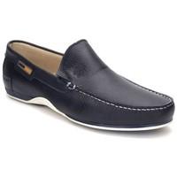 Sapatos Homem Mocassins Comodo Sport Mocasin de hombre de piel by Bleu