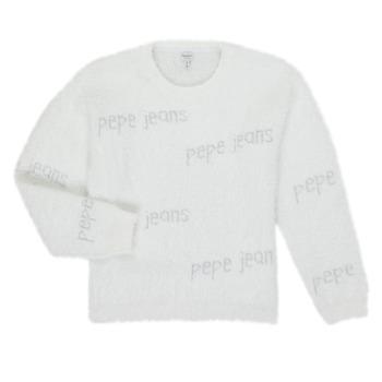Textil Rapariga camisolas Pepe jeans AUDREY Branco