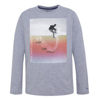 Textil Rapaz T-shirt mangas compridas Pepe jeans EDGAR Cinza