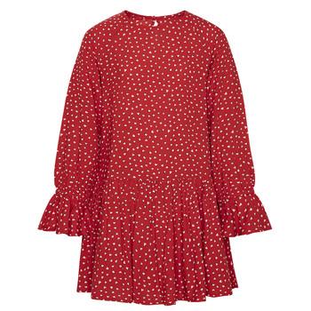 Textil Rapariga Vestidos curtos Pepe jeans CATY Vermelho