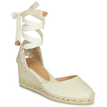 Sapatos Mulher Sandálias Castaner CARINA Marfim