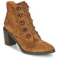 Sapatos Mulher Botins Mam'Zelle NECLA Camel