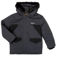 Textil Rapaz Parkas Timberland T26525 Cinza
