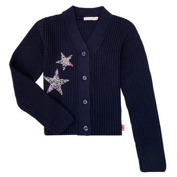 Textil Rapariga Casacos de malha Billieblush / Billybandit U15758 Azul