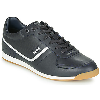 Sapatos Homem Sapatilhas BOSS GLAZE LOWP NAHB Marinho