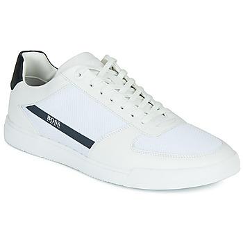 Sapatos Homem Sapatilhas BOSS COSMOPOOL TENN MXME Branco