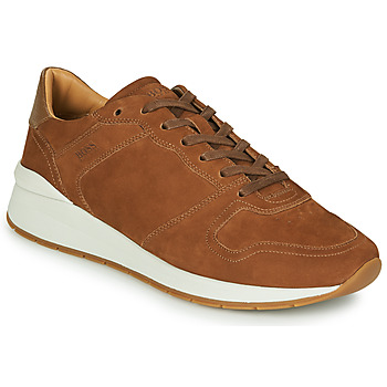 Sapatos Homem Sapatilhas BOSS ELMNT RUNN NUSF Conhaque