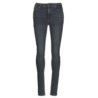 Textil Mulher Gangas Skinny Levi's 720 HIGH RISE SUPER SKINNY Bege perolado / Out