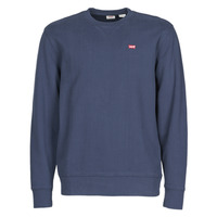 Textil Homem Sweats Levi's NEW ORIGINAL CREW Azul