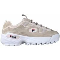 Sapatos Mulher Sapatilhas Fila Dformation S Wmn Branco, Cor bege