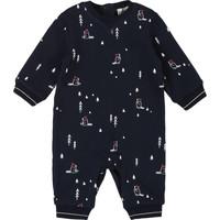 Textil Rapaz Macacões/ Jardineiras Carrément Beau Y94187 Azul
