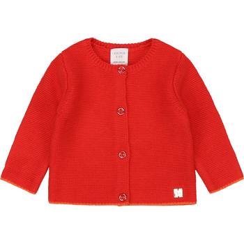 Textil Rapariga Casacos de malha Carrément Beau Y95225 Rosa