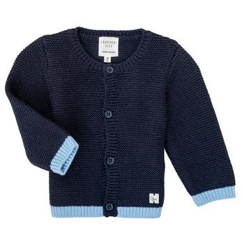 Textil Rapariga Casacos de malha Carrément Beau Y95230 Azul