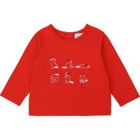 Textil Rapariga T-shirt mangas compridas Carrément Beau Y95252 Vermelho