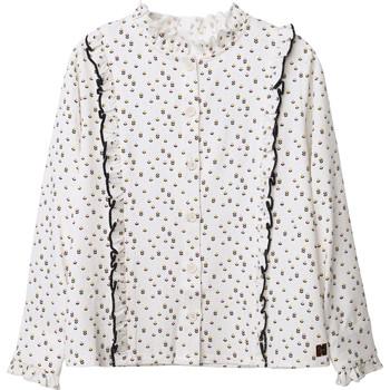 Textil Rapariga Tops / Blusas Carrément Beau Y15356 Branco