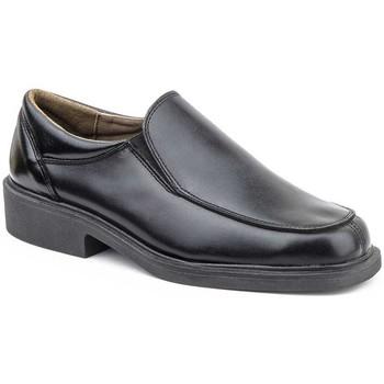 Sapatos Homem Mocassins Iberico Shoes Mocasin de hombre de piel by Sachini Noir