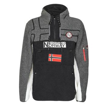 Textil Homem Casaco polar Geographical Norway RIAKOLO Preto
