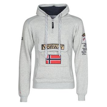Textil Homem Sweats Geographical Norway GYMCLASS Cinza / Mistura