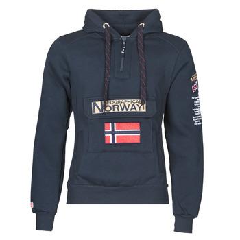 Textil Homem Sweats Geographical Norway GYMCLASS Marinho