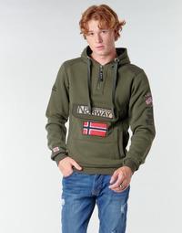 Textil Homem Sweats Geographical Norway GYMCLASS Cáqui