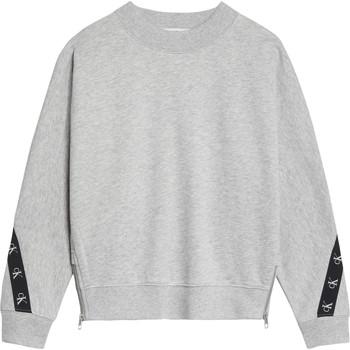 Textil Rapariga Sweats Calvin Klein Jeans IG0IG00687-PZ2 Cinza
