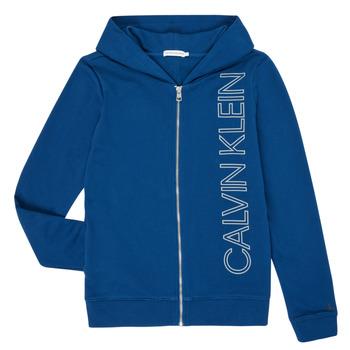 Textil Rapaz Sweats Calvin Klein Jeans IB0IB00668-C5G Azul