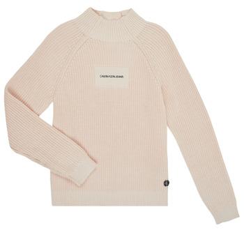 Textil Rapariga camisolas Calvin Klein Jeans IG0IG00680-PGB Cinza