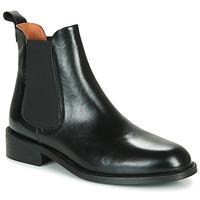 Sapatos Mulher Botas baixas Jonak Dagos Preto
