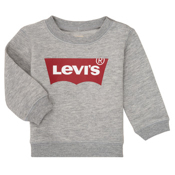 Textil Rapaz Sweats Levi's BATWING CREW Cinza