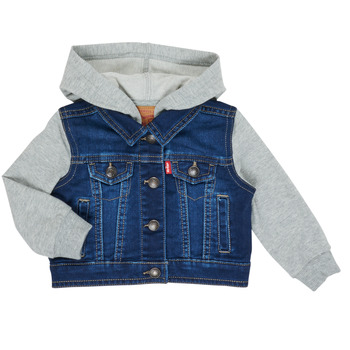 Textil Rapaz casacos de ganga Levi's INDIGO JACKET Azul