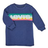 Textil Rapariga Vestidos curtos Levi's SWEATSHIRT DRESS Azul