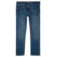 Textil Rapaz Calças de ganga slim Levi's 511 SLIM FIT JEAN Azul