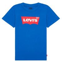 Textil Rapaz T-Shirt mangas curtas Levi's BATWING TEE Azul